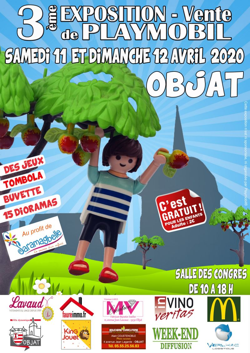 Exposition-vente PLAYMOBIL