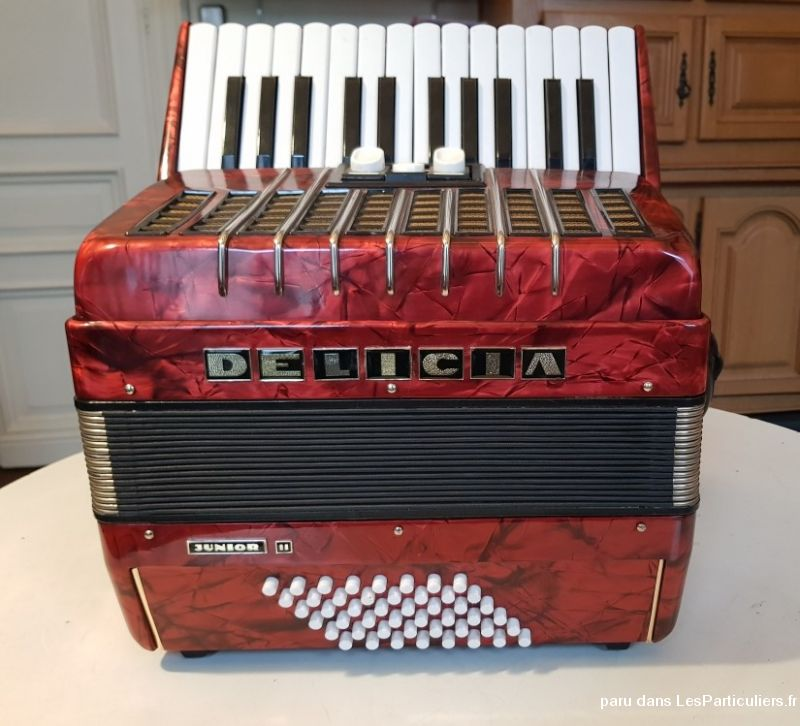 Accordéon chromatique Delicia Junior II