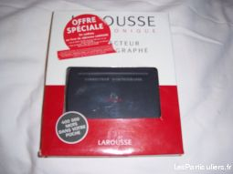 correcteur d'orthographe larousse high tech image son informatique vendée