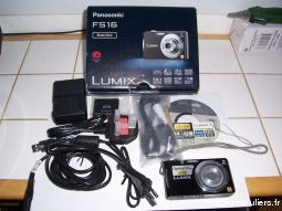 appareil photo panasonic lumix dmc-fs 16 noir high tech image son photo camescope vendée