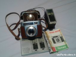 Appareil photo + son flash ann�e 1960