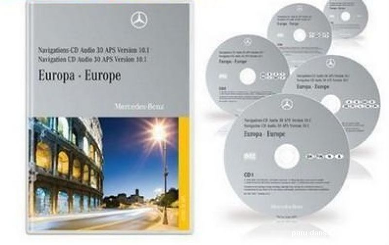 cd dvd et cartes sd gps automobiles high tech image son gps var