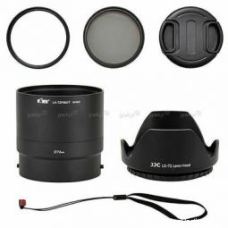 pare pour nikon p 600 + filtres high tech image son photo camescope nord