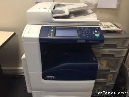 photocopieur  xerox 7120 high tech image son informatique seine-et-marne