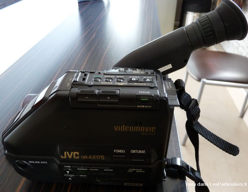 camera enregistreur et lecteur jvc gr-ax17s  high tech image son photo camescope c�te-d'or