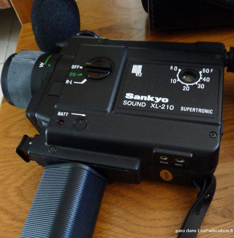 caméra sankyo sound xl 210  high tech image son photo camescope côte-d'or