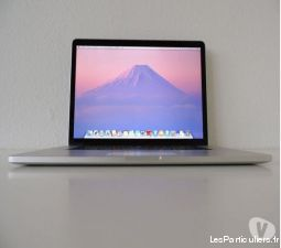 macbook pro retina 15 core i7 + 16 go ram + ssd 51 high tech image son informatique la r�union