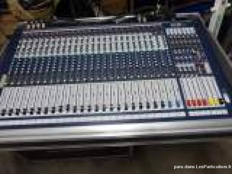 console de mixage soundcraft gb4 high tech image son hifi son oise