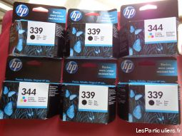 cartouches / imprimante hp 339 et 344 + fax brothe high tech image son informatique alpes-maritimes
