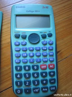 calculatatrice casio college 2d+ high tech image son autres haute-garonne