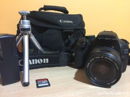 canon 550d avec objectif 28-80 high tech image son photo camescope nord