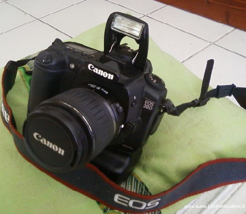 reflex canon eos 20 d numerique high tech image son photo camescope guadeloupe