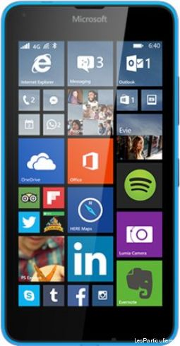 t�l�phone microsoft lumia 640 high tech image son telephonie nord