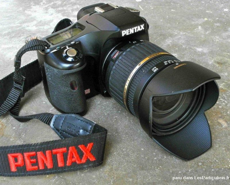 superbe reflex pentax k 200 en parfait  etat high tech image son photo camescope guadeloupe