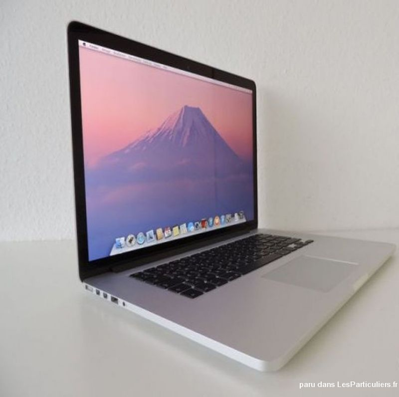 macbook pro 15 retina i7 + 16go + 512 ssd high tech image son informatique alpes-maritimes