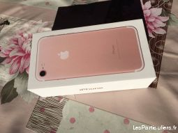 iphone 7 256 gb or rose  high tech image son telephonie pyr�n�es-atlantiques