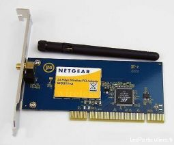 carte réseau wifi netgear wg311 v3 - g54 pci high tech image son informatique moselle
