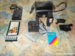 polaroid x 2 high tech image son photo camescope ain