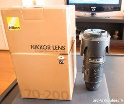 nikkor lens- af-s nikkor 70-200mm f / 2 / 8g ed  vr ii high tech image son photo camescope essonnes