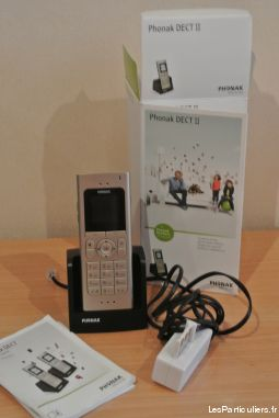 phonak dect ii high tech image son telephonie landes