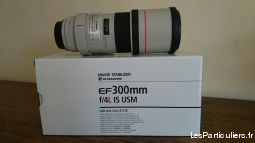 objectif canon 300 mm f4 l is usm high tech image son photo camescope côte-d'or