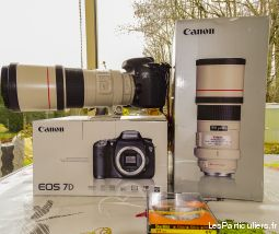 canon7 d+objectif 300 f. 4 série l high tech image son photo camescope haute-vienne