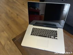 macbook pro 17 pouces high tech image son informatique val-de-marne