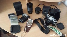 ensemble materiels photo argentique high tech image son photo camescope alpes-maritimes