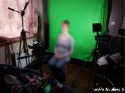 fond vert chroma key 6x3m (incrustation vidéo)  high tech image son photo camescope seine-et-marne