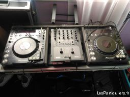 platine cd pioneer + table de mixage rane + dicer high tech image son hifi son val-d'oise