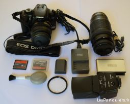 kit  complet eos 400d + zoom et accessoires divers high tech image son photo camescope loiret