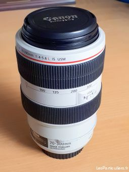 canon ef 70-300mm f / 4-5. 6 l is usm téléobjectif high tech image son photo camescope bas-rhin