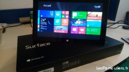 microsoft surface rt + clavier high tech image son informatique meurthe-et-moselle
