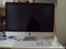 imac 27'' mi 2011-2012  high tech image son informatique seine-saint-denis