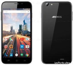 archos 55 helium plus high tech image son telephonie marne