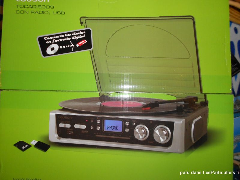 platine vinyle, bluetooth et radio high tech image son hifi son morbihan