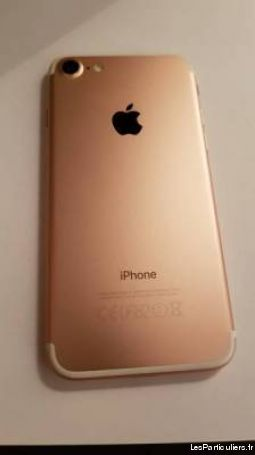 iphone 7 64 gb rose high tech image son telephonie cher