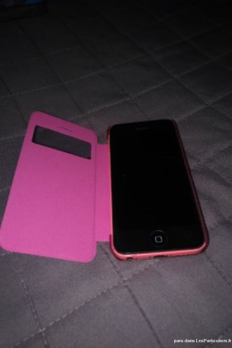 iphone 5c rose 16go high tech image son telephonie val-d'oise