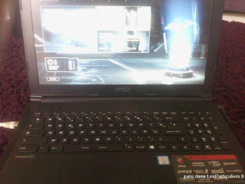 pc portable msi gamer gtx960m / i5 / 8go ram / 1to high tech image son informatique haute-garonne