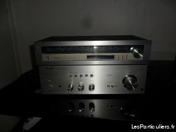 ancien ampli stéréo sharp + tuner pioneer + baff high tech image son hifi son seine-saint-denis