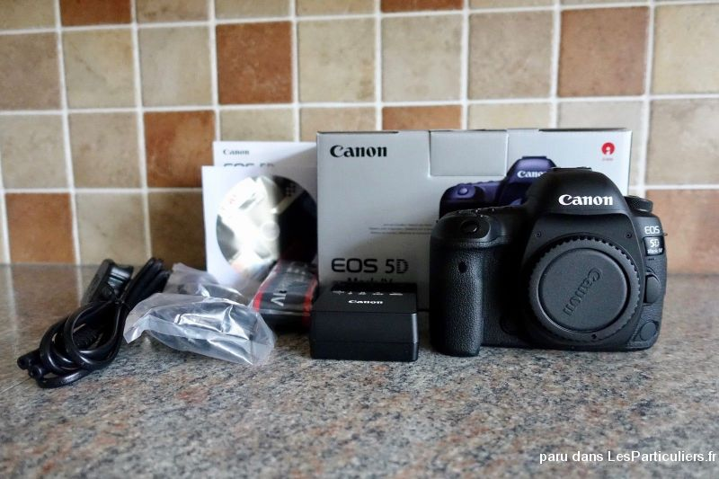 canon 5d mark iv + objectif 50mm 1. 4 + grip high tech image son photo camescope charente