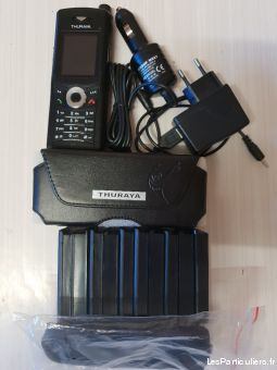 lot telephone satellite thuraya xt dual sans apn high tech image son telephonie paris