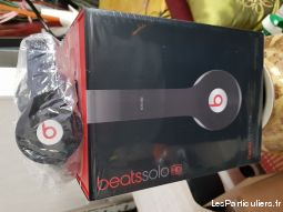 beats solo hd 2 wired headphones - black neuf high tech image son hifi son seine-saint-denis