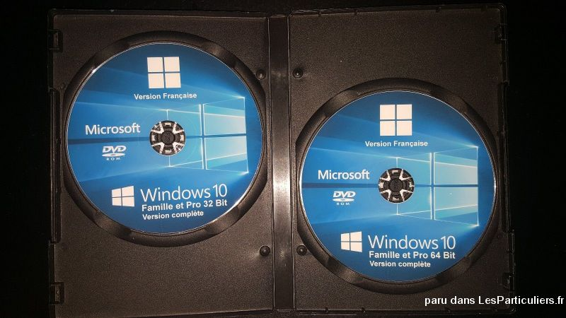 Windows 10 famille DVD + LICENCE 1 POSTE High Tech Image son Informatique Nord