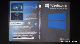 windows 10 professionnel dvd + licence 1 poste high tech image son informatique nord