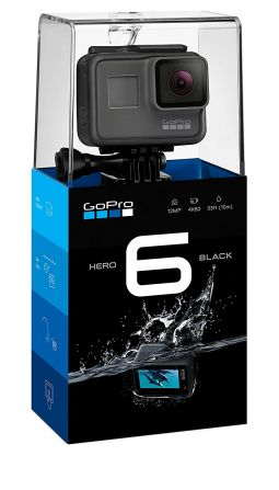 gopro hero 6 black proposée à 199 € livrée high tech image son photo camescope bas-rhin