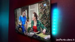 tv philips 140 cm  high tech image son televiseur oise
