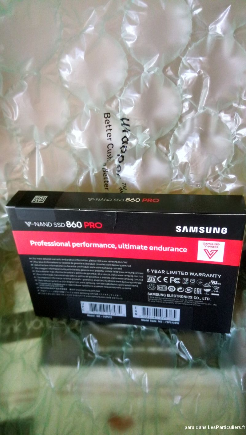 Samsung v-nand ssd 860 pro 512 High Tech Image son Informatique Alpes-Maritimes