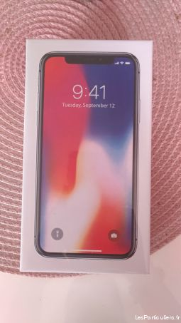 iphone x 256gb gris sideral high tech image son telephonie haute-garonne