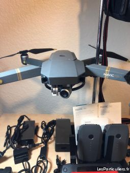 drone dji mavic pro high tech image son photo camescope gard